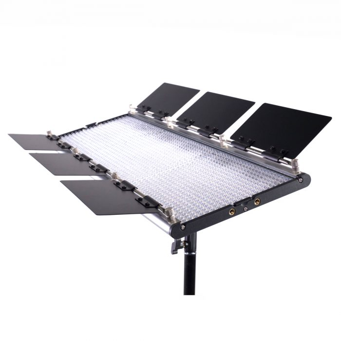 Dracast Silver Series LED1500 Daylight Panel with V-Mount Battery Plate