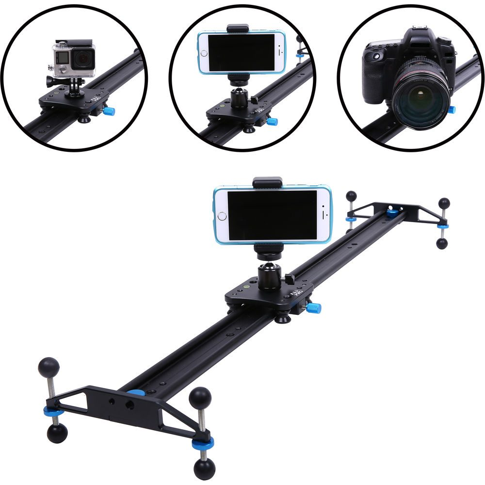 "A&J PRO Simple Camera Slider (29.9"", 11 lb Payload)"