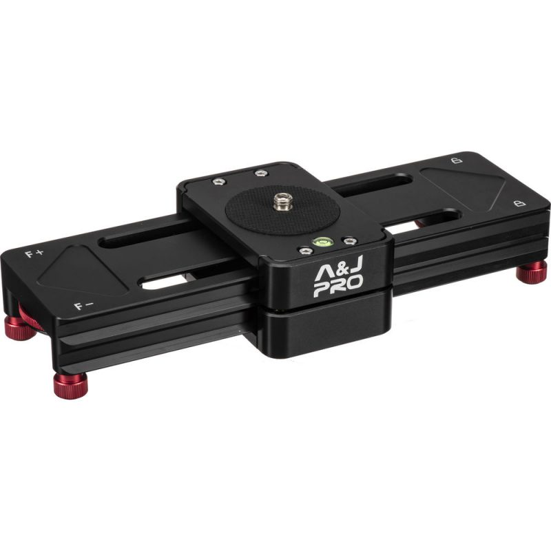 A&J PRO Double-Distance Camera Slider (6.6 lb Payload)