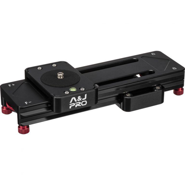 A&J PRO Double-Distance Camera Slider (6.6 lb Payload)