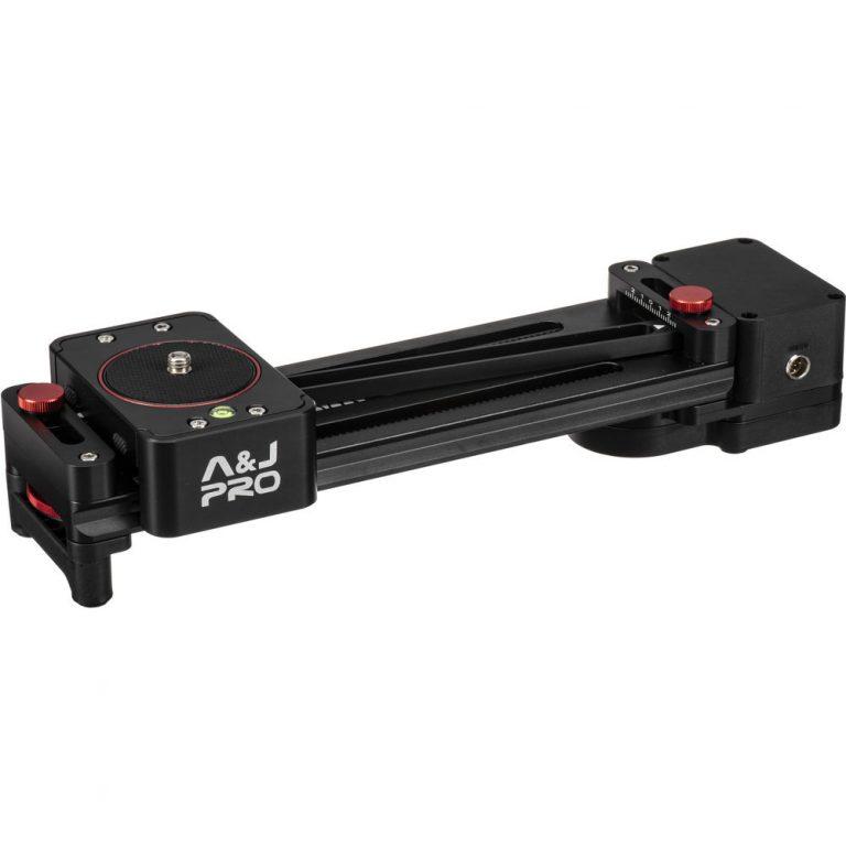 A&J PRO Mini Camera Parallax Slider (Motorized, 11 lb Payload)