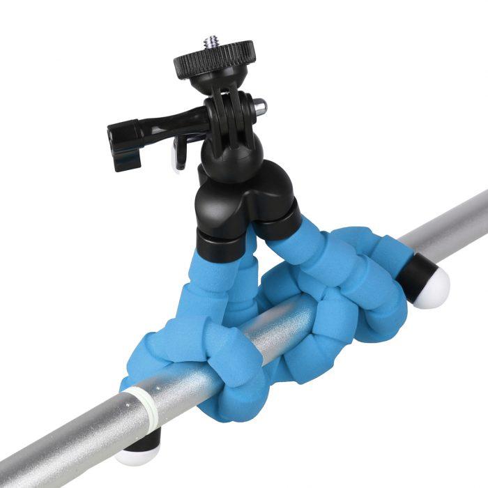 Kingjoy Flexible Mini Tripod action camera adapter