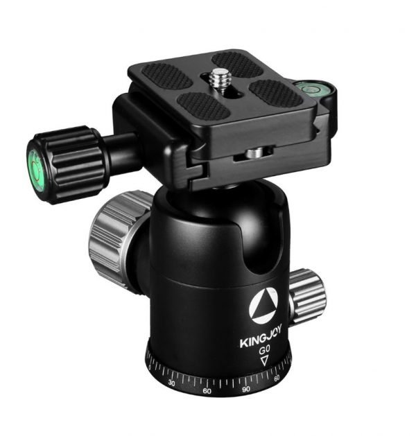 Kingjoy G Series G0 black Professional Ball Head