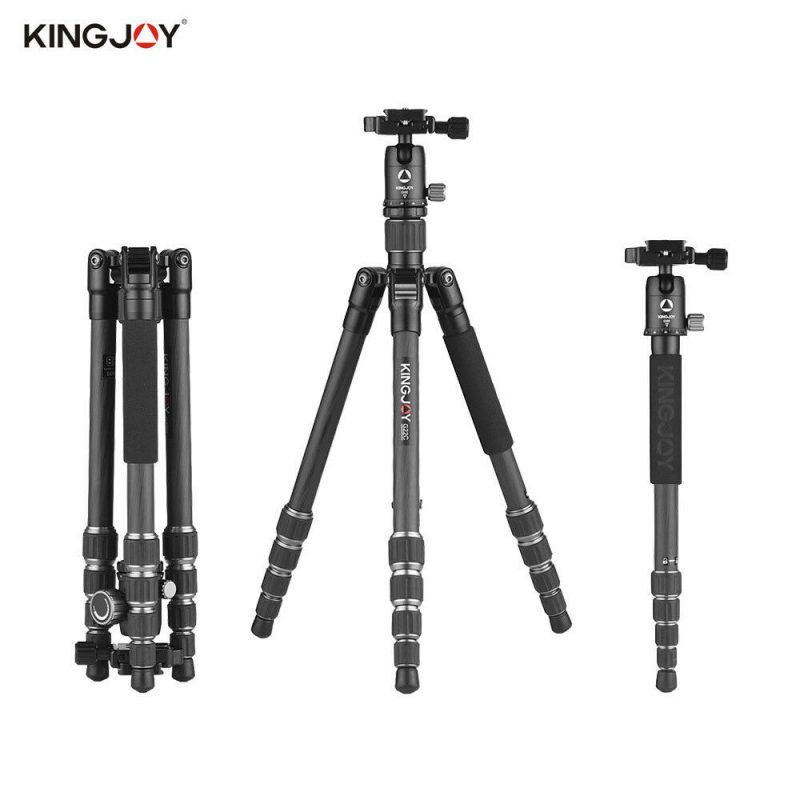 Kingjoy G22C-G00 Carbon Fiber Tripod