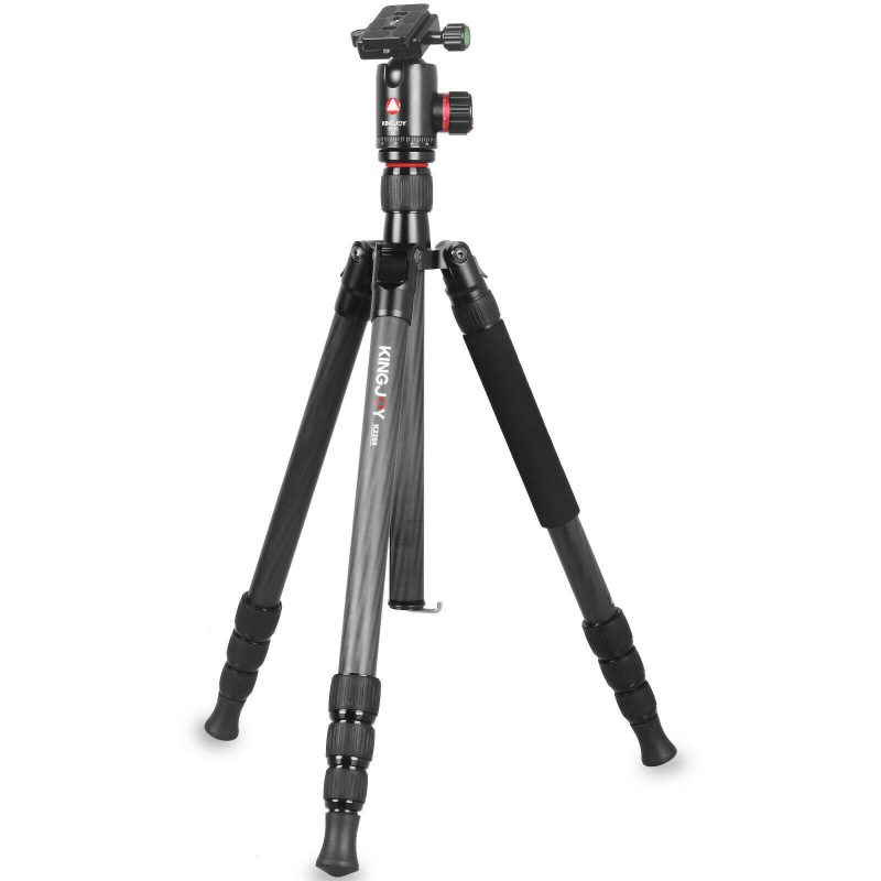 Kingjoy K2208-Q20 black Pro Camera Tripod Kit