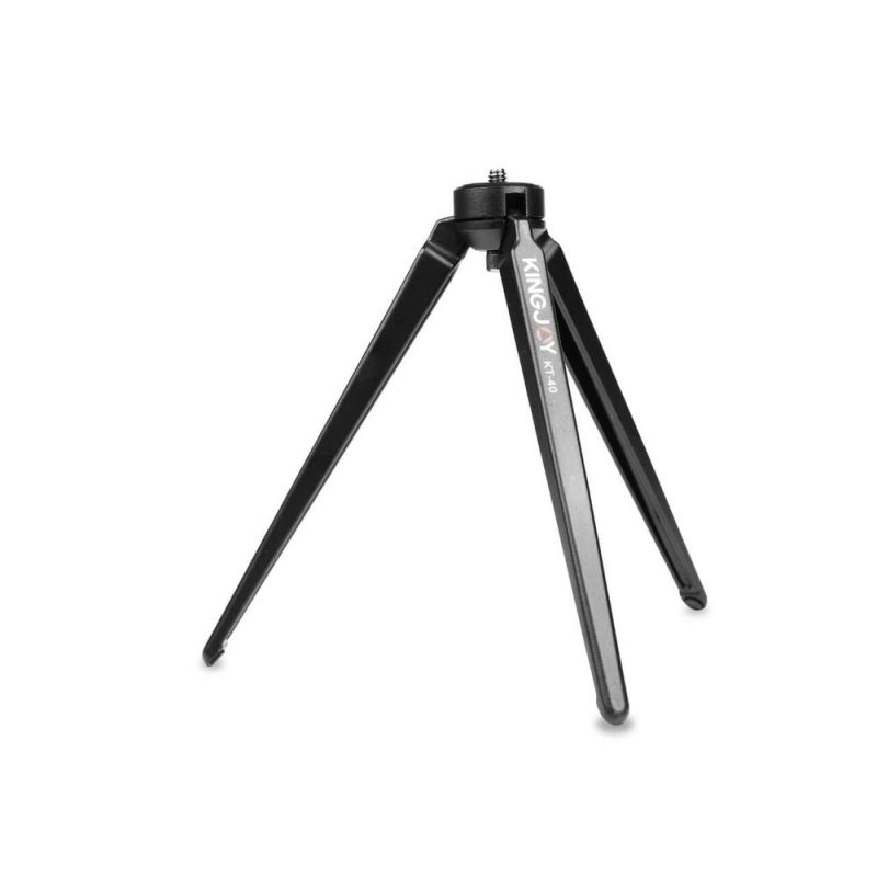 KINGJOY KT-40 Aluminum Mini Tabletop Tripod Legs - Large