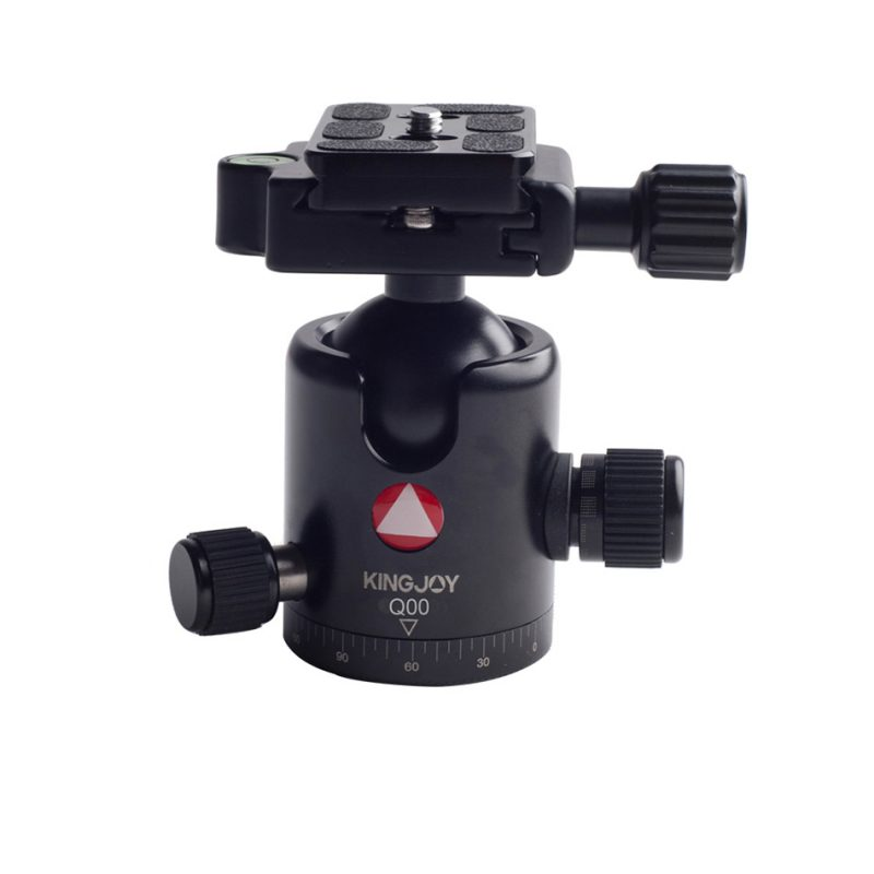 Kingjoy Q00 black Q Series Professional Damping Ball Head