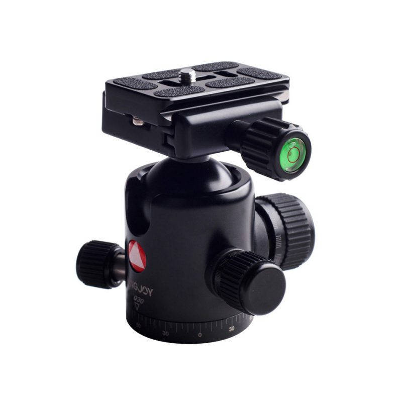 Kingjoy Q30 black Q Series Professional Damping Ball Head