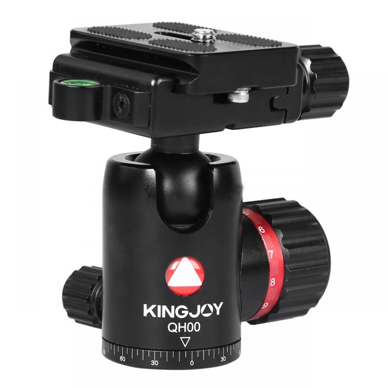 Kingjoy QH00 black QH Series High-end Damping Ball Head