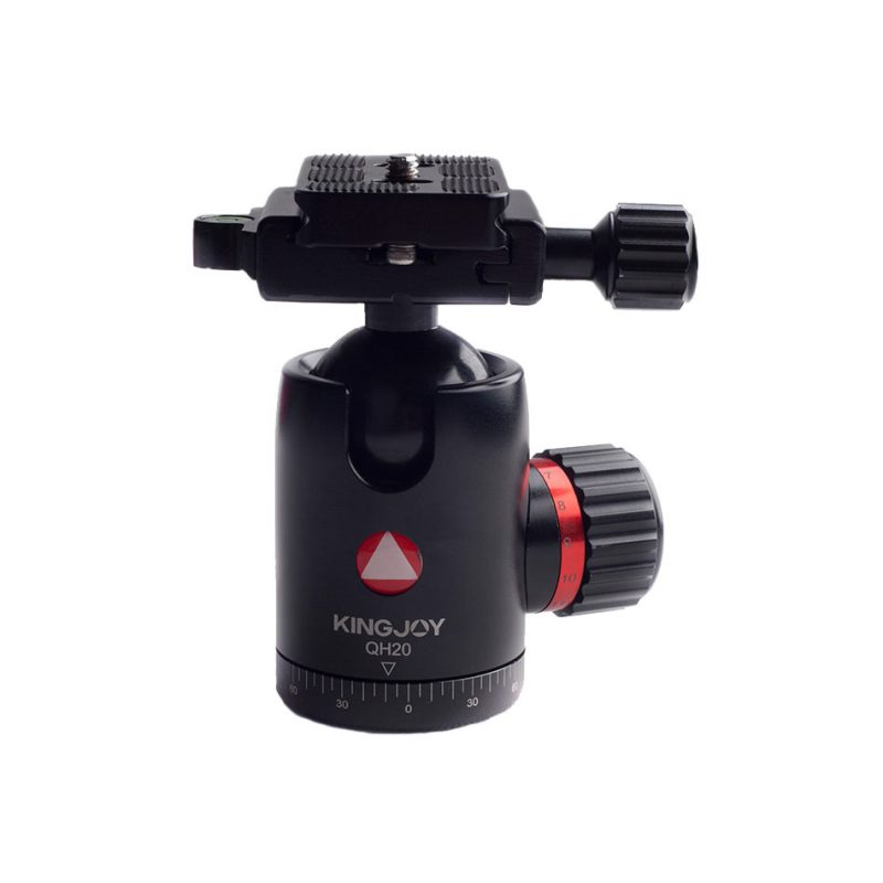 Kingjoy QH20 black QH Series High-end Damping Ball Head
