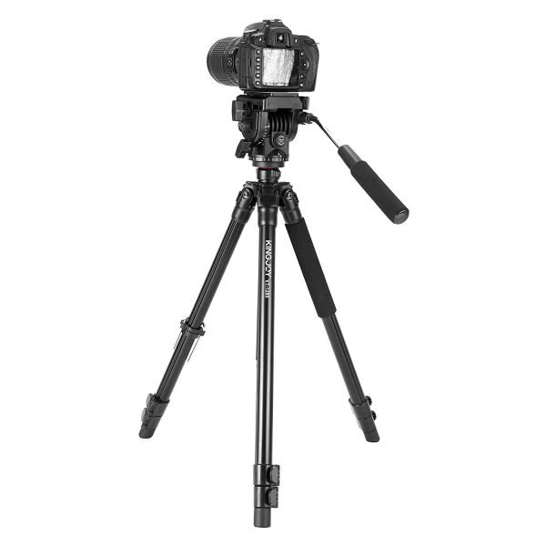 Kingjoy VT-1200 Professional Video Tripod Kit