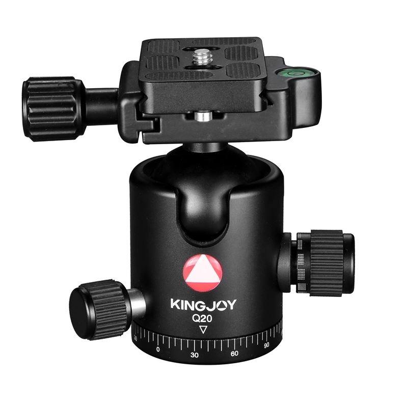 Kingjoy Q Series Q20 black Professional Damping Ball Head