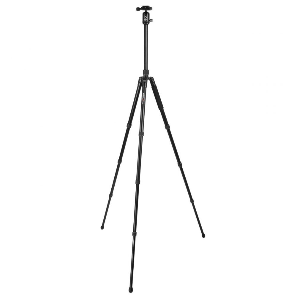 Kingjoy G55+G0 4-Section Travel Tripod with Panoramic Ball Head