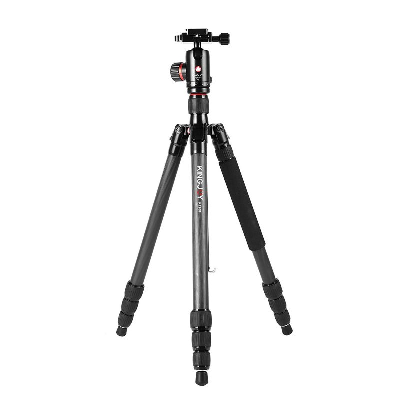 Kingjoy K-Series Carbon Fiber Tripod with QH10 Ball Head