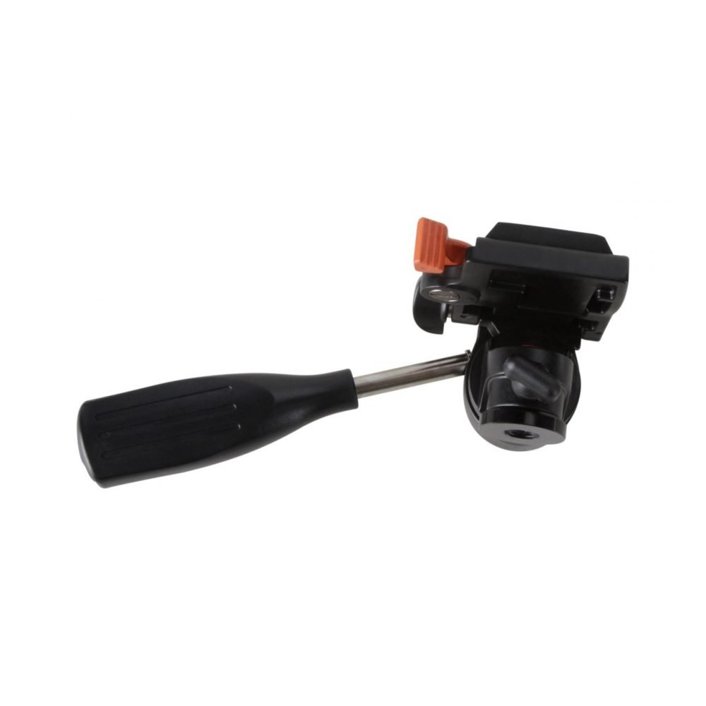 "Kingjoy KH-6710 Single Handle Aluminum Monopod Video Head with 1/4"" QR Plate"