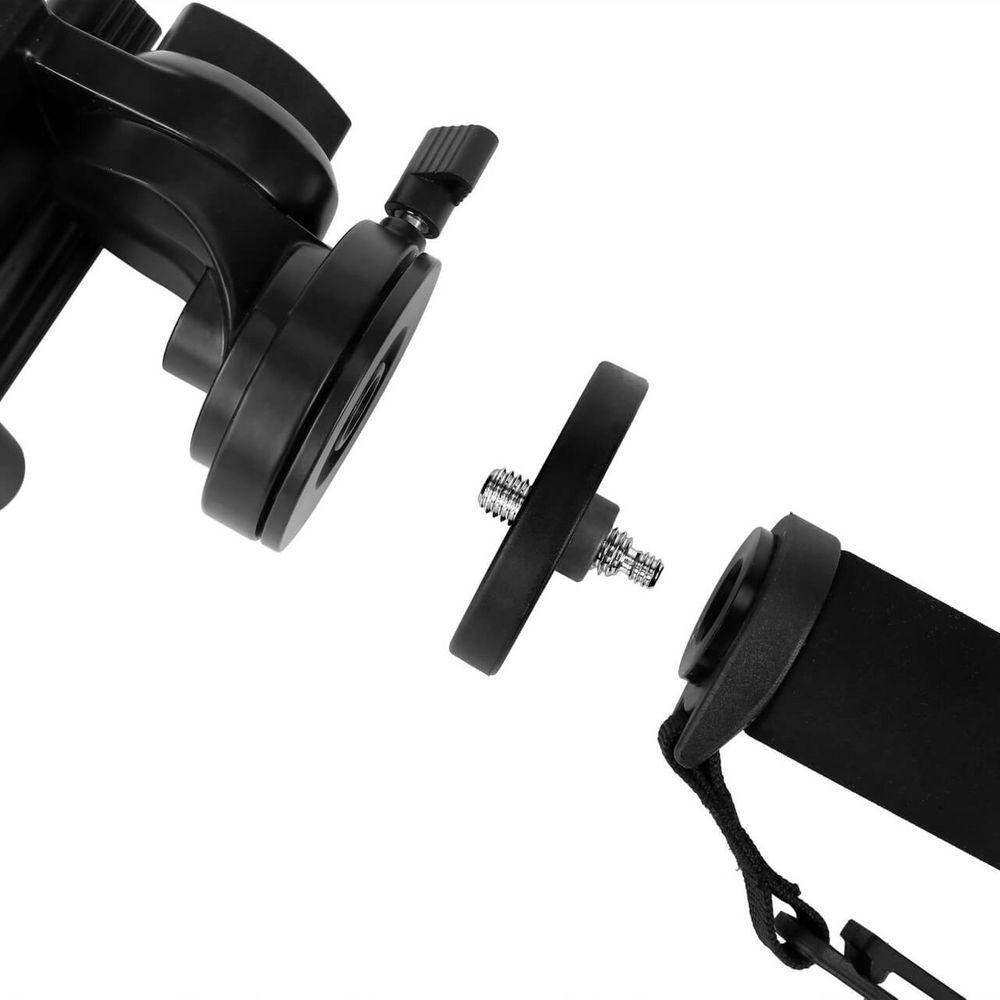 Kingjoy MP3208+KH6750 Professional Carbon Fiber Monopod with Fluid Drag Head