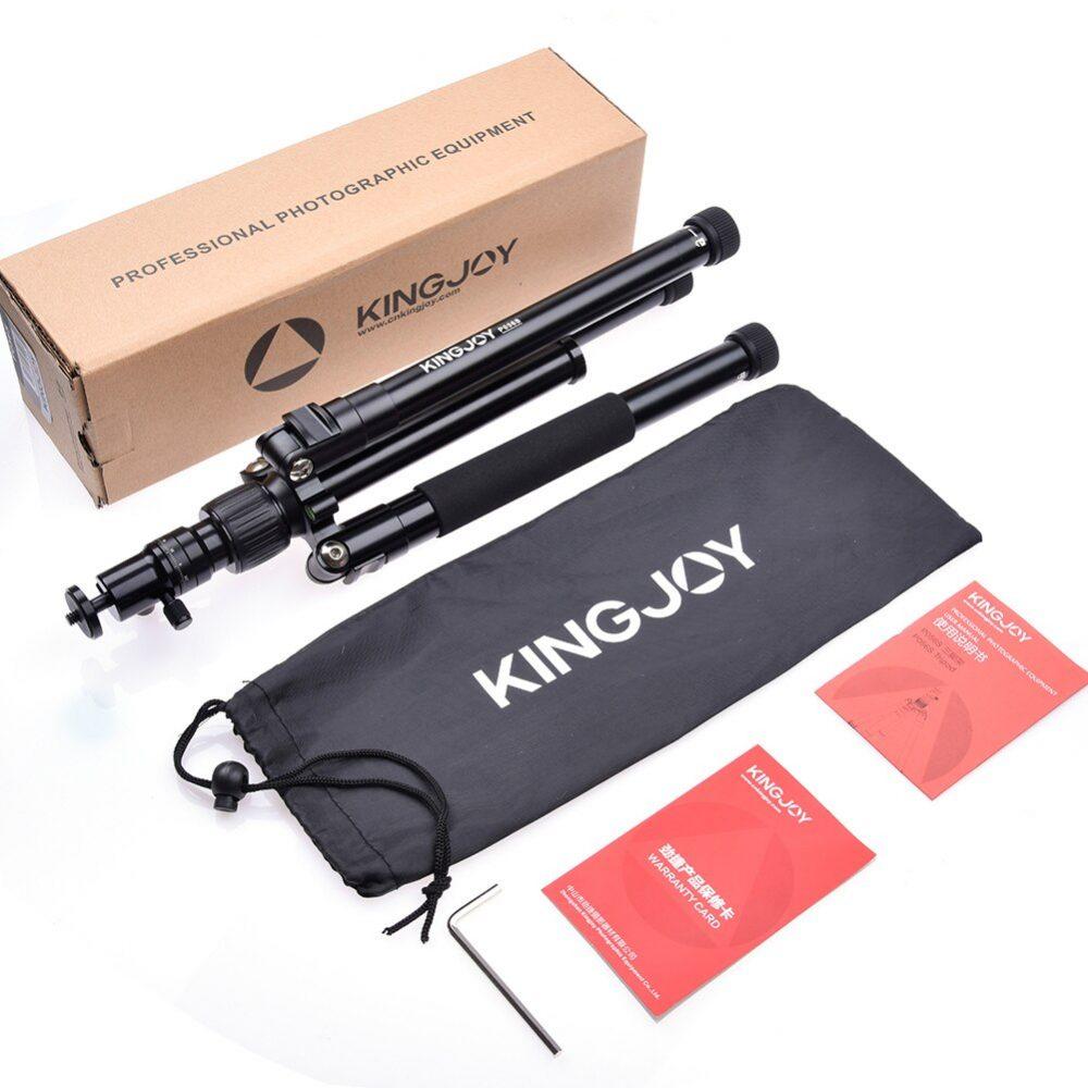 Kingjoy P056S Foldable Tripod
