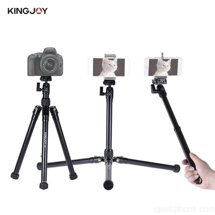 Kingjoy P056 Foldable Tripod Kit