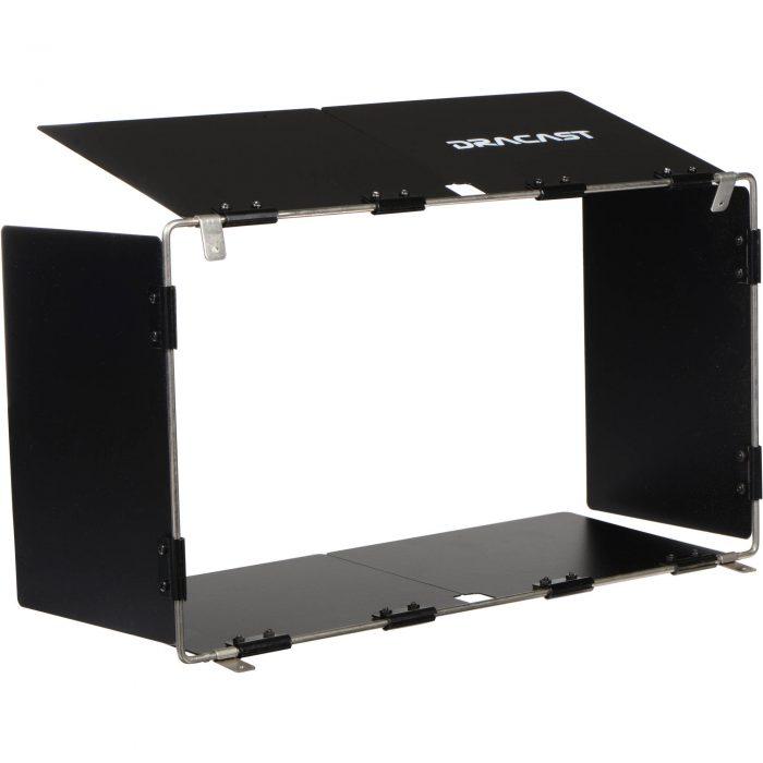 Dracast Silver Series LED1000 Foldable Panel Barndoors