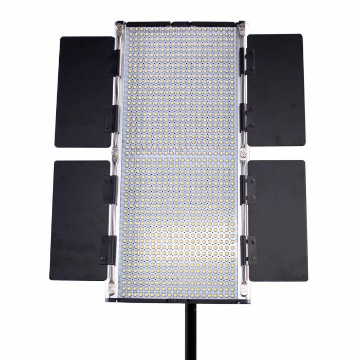 Dracast LED1000 Silver Series Daylight LED Light with V-Mount Battery Plate