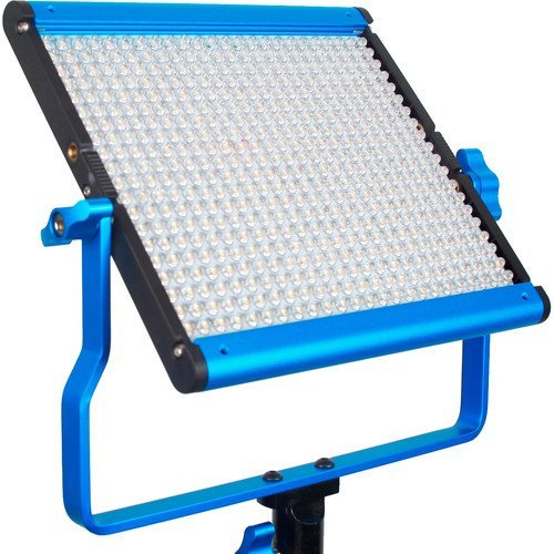 Dracast LED500 Silver Series Bi-Color LED Light with Dual NP-F Battery Plate