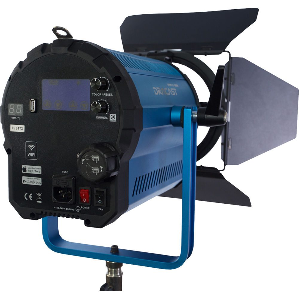 Dracast Fresnel Pro LED1500 Bi-Color with Wi-Fi