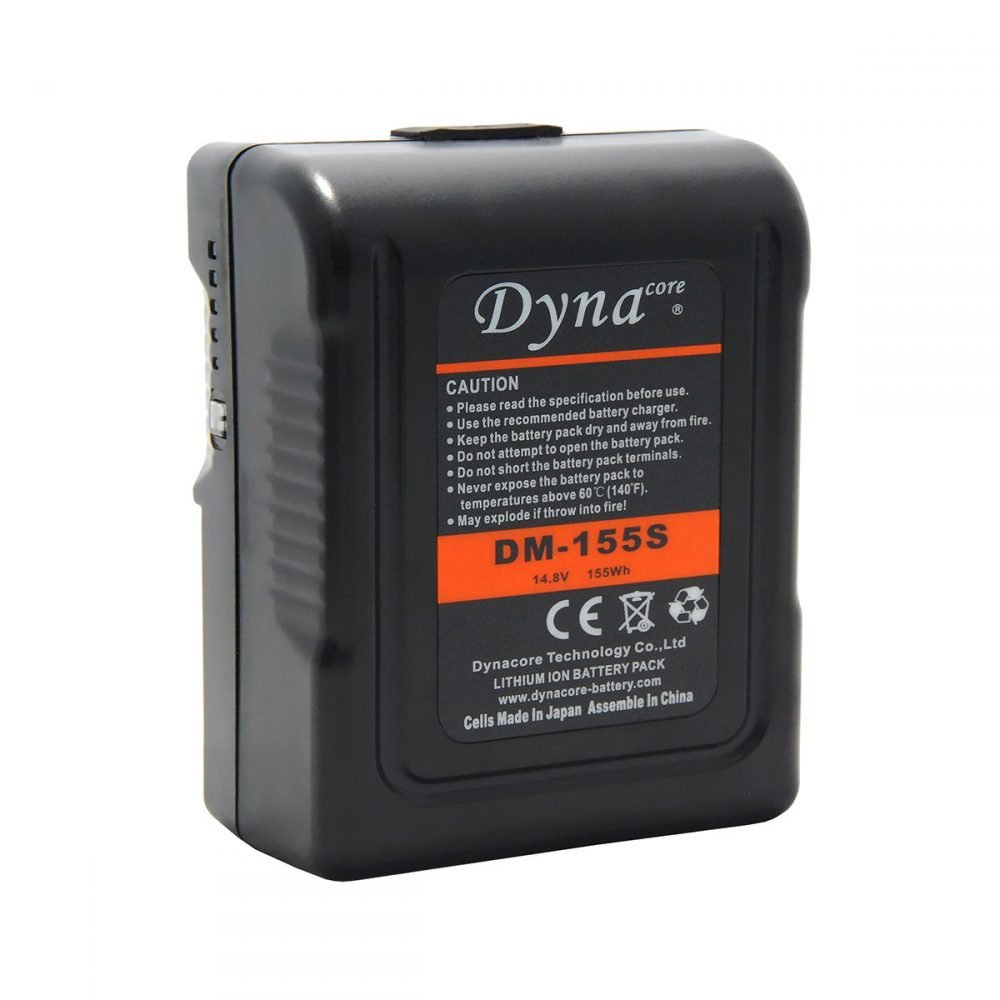 Dynacore DM-155S 155Wh V-Mount Mini Li-Ion Battery
