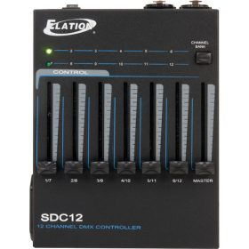 Elation Professional SDC12 12-Channel Basic DMX Controller