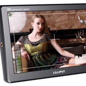 "Lilliput A8 4K 8.9"" On-Camera HDMI Monitor"
