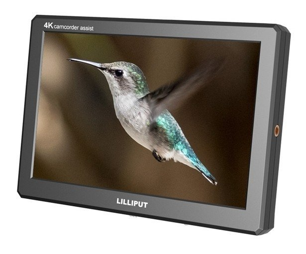 "Lilliput A8S 4K 8.9"" On-Camera HDMI 3G-SDI Monitor"