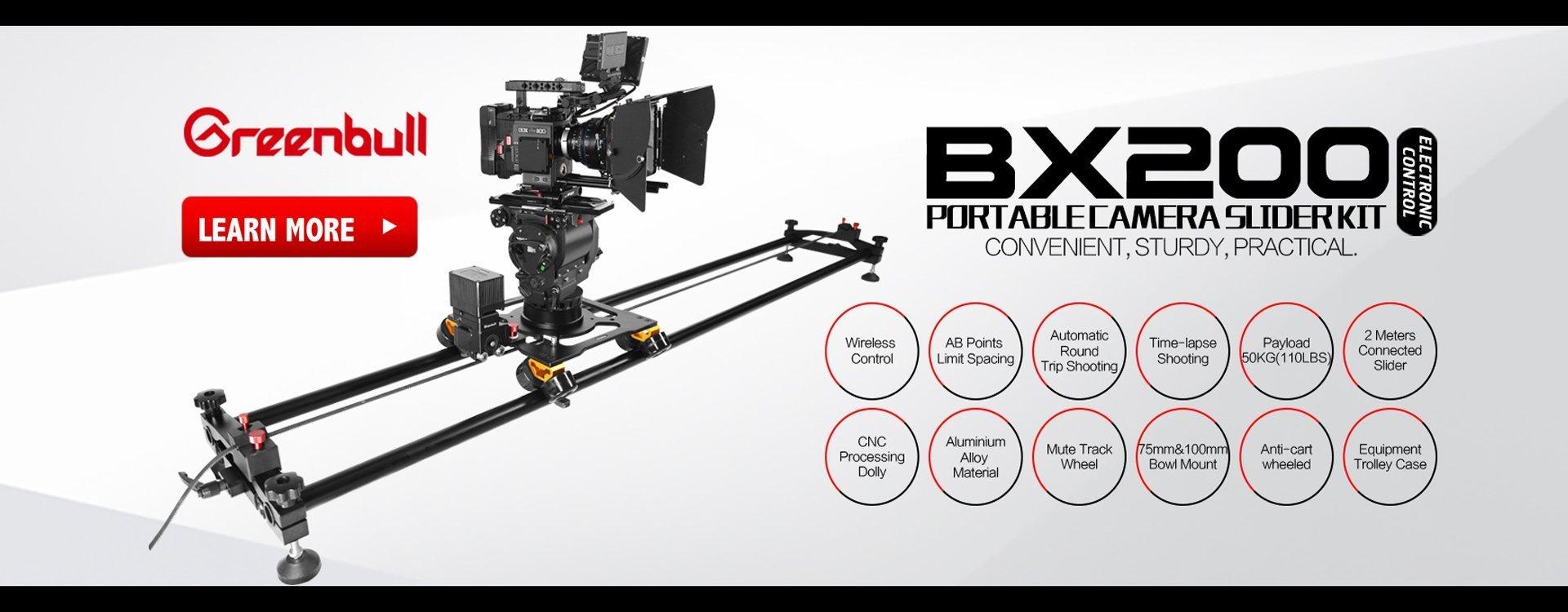 Greenbull BX200 Camera Slider