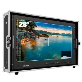"""Lilliput BM280-4KS 28"""" Carry-on / Rackable 4K Broadcast Monitor with HDR"""