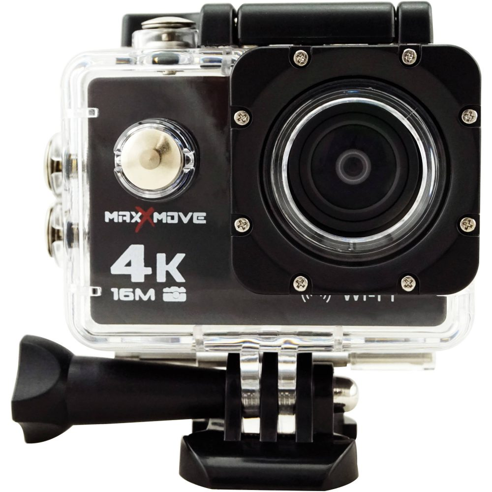 MaxxMove Rize H4 4K Action Camera (Black)