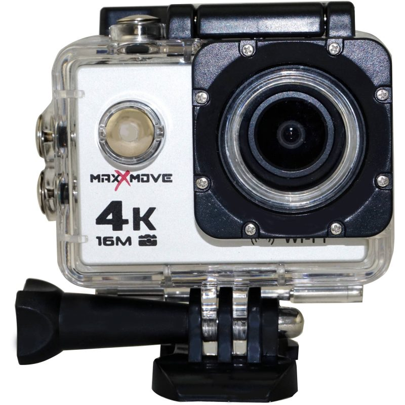 MaxxMove Rize H4 4K Action Camera (Silver)