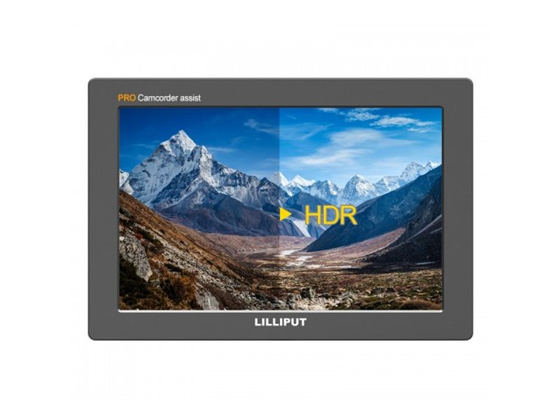 "Lilliput Q7 PRO 7"" HDR and LUT Monitor with HDMI/SDI Conversion"