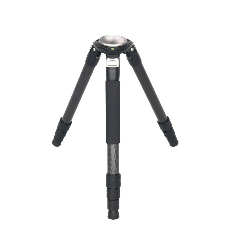 Seeder T100C4 3-stage 100% carbon fiber Video tripod System with Padded Bag