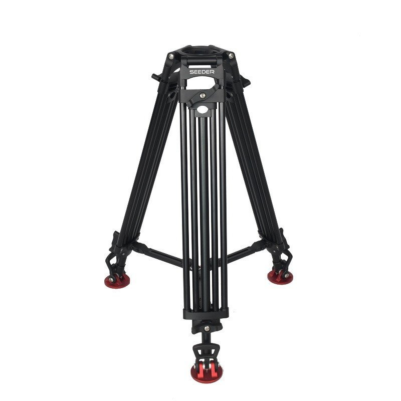 Seeder T150A2 Two-Stage Aluminum Video Tripod System with Padded Bag
