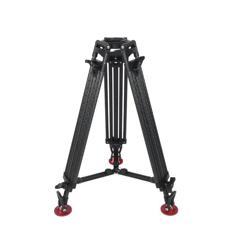 Seeder T150C2 2-stage 100% carbon fiber Video tripod System with Padded Bag