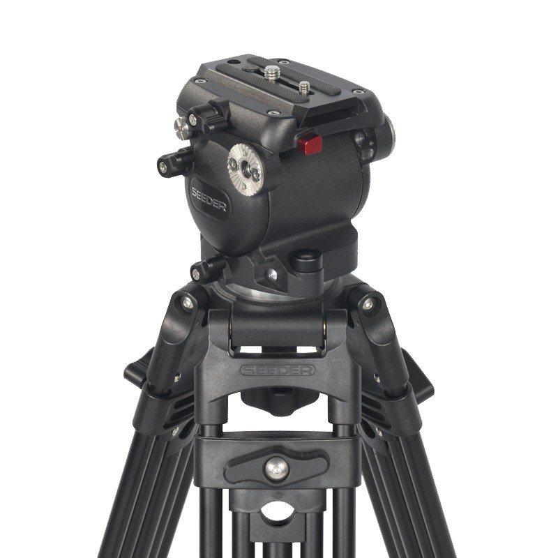 Seeder T40 Two-Stage Aluminum Video Tripod Systems with Padded Bag