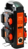 Dynacore DT-4S Portable 2-sided Quad Simultaneous Charger and Power Supply