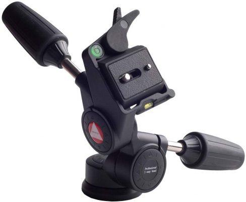 Kingjoy KH-6730 black KH Series Professional Three-way Head