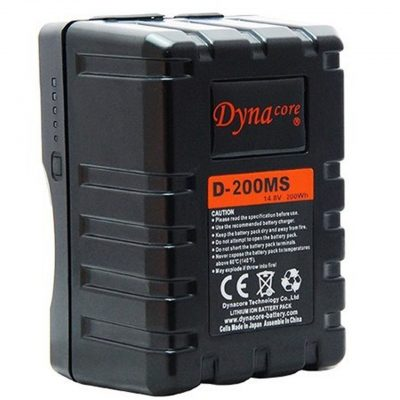 Dynacore D-200MS RUGGED Mini Battery – V-Mount