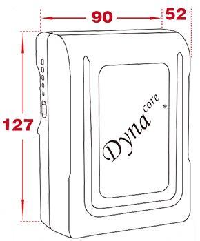 Dynacore DM-155A Mini Battery – Gold Mount