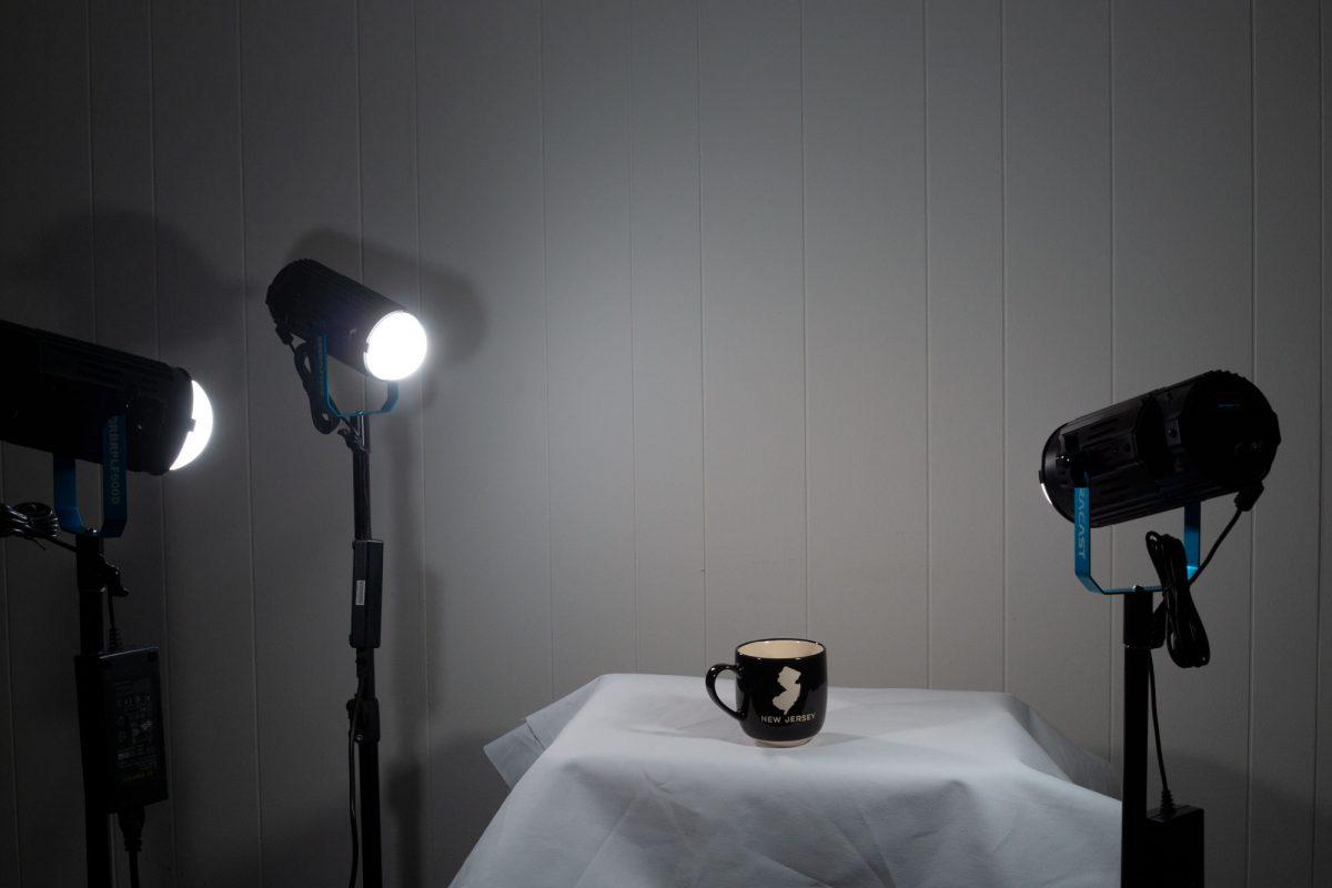 Dracast Product Photography kit using the Dracast Boltray three light bicolor kit