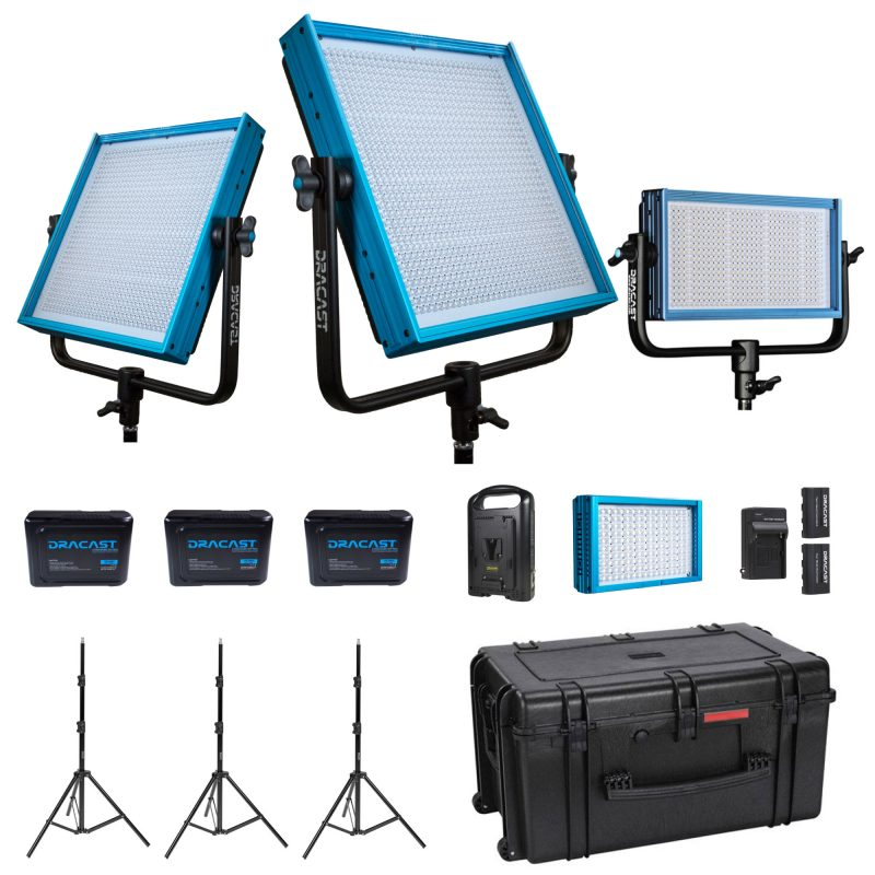Dracast Reporter Kit (5600K Daylight - V-Mount)