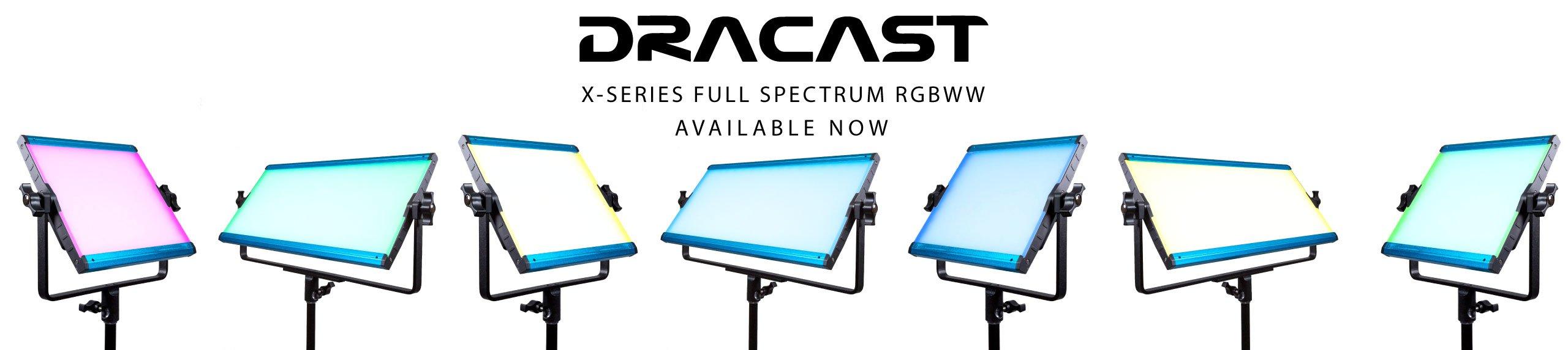 Dracast X-Series RGB LED Video Lights
