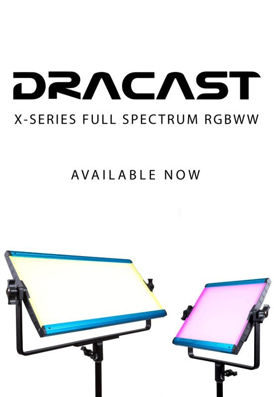 Dracast X-Series RGB LED Video Light panel