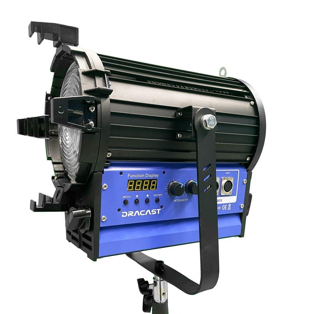 Dracast DRDRLF4000B 400W LED Fresnel Light Fixture