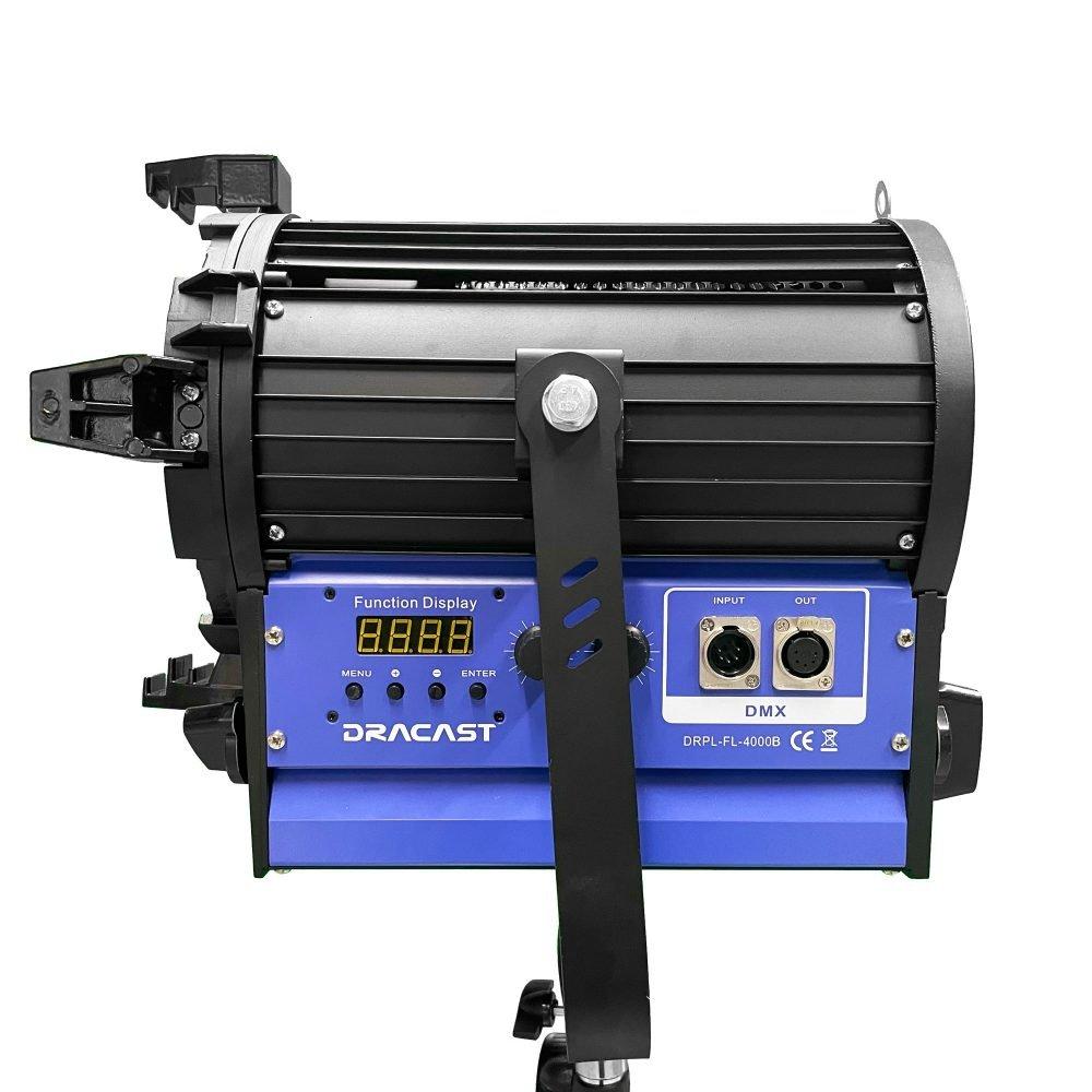 Dracast DRDRLF4000B 400W LED Fresnel Light Fixture 2