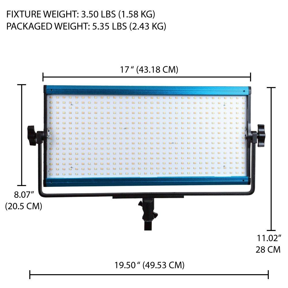 Dracast X Series LED1000 LED Video Light